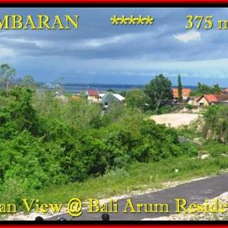 TANAH JUAL MURAH JIMBARAN BALI 3,75 Are View laut Lingkungan villa