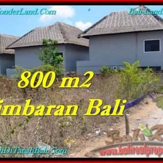 TANAH MURAH di JIMBARAN JUAL 800 m2 Lingkungan Villa