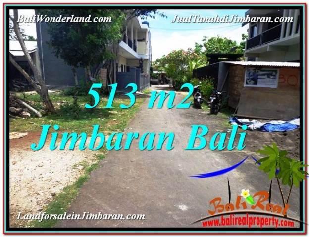 TANAH DIJUAL di JIMBARAN BALI 513 m2 Lingkungan Elite
