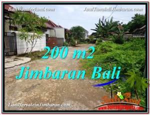 JUAL MURAH TANAH di JIMBARAN BALI 200 m2  Lingkungan Villa