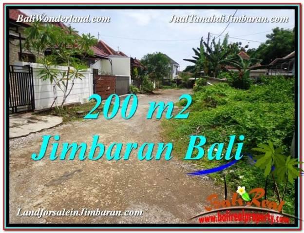 TANAH DIJUAL di JIMBARAN 200 m2 Lingkungan Villa