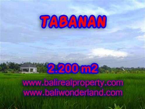 DIJUAL TANAH DI TABANAN BALI TJTB097 - INVESTASI PROPERTY DI BALI