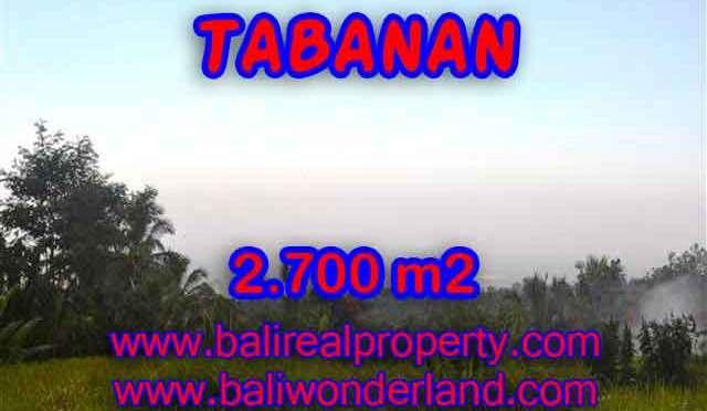 TANAH DI TABANAN DIJUAL TJTB128 - INVESTASI PROPERTY DI BALI
