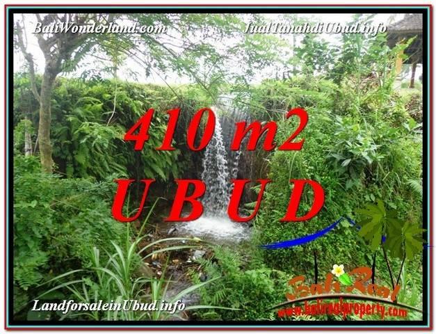 JUAL TANAH di UBUD 4 Are View Sawah dan Sungai