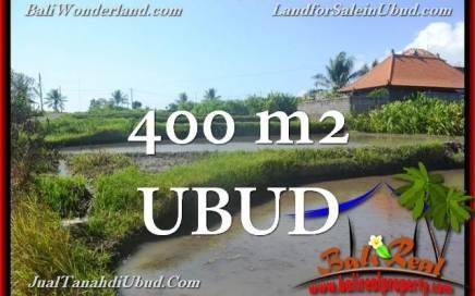 TANAH DIJUAL MURAH di UBUD 400 m2 di Ubud Gianyar