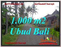 TANAH di UBUD BALI DIJUAL TJUB604