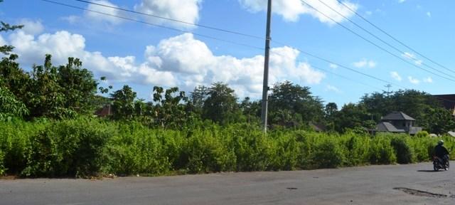 Dijual tanah di Jimbaran