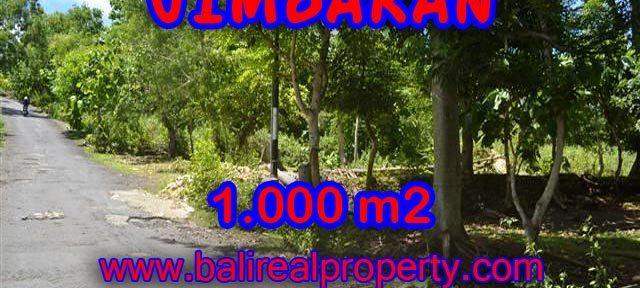 Murah ! Tanah di JIMBARAN Bali Dijual Rp 3.450.000 / m2 - TJJI070-x