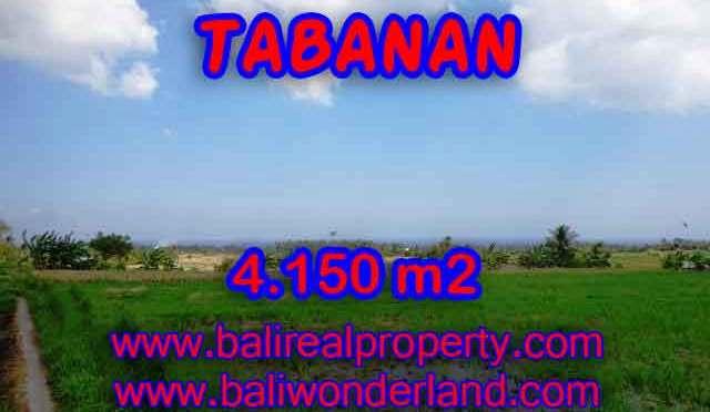 Murah ! Tanah di TABANAN Bali Dijual Rp 570.000 / m2 - TJTB137
