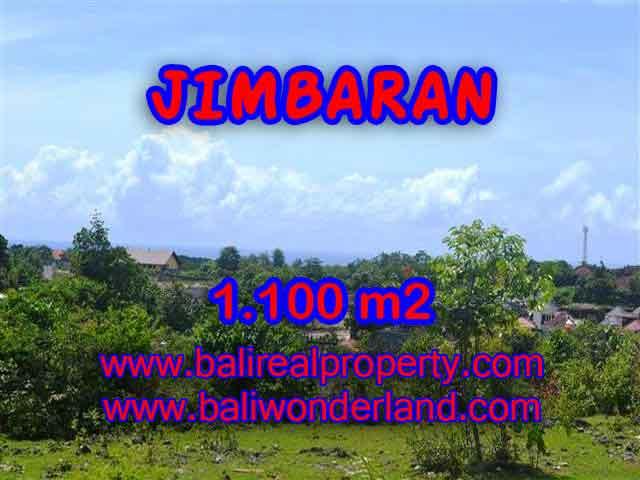 TANAH MURAH  di JIMBARAN BALI DIJUAL 1,100 m2  Lingkungan villa