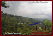 JUAL TANAH di TABANAN 10,500 m2 View gunung dan kebun