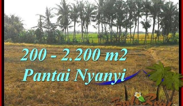 DIJUAL TANAH di TABANAN BALI 2,200 m2 di Tabanan Tanah Lot