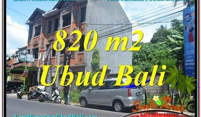 JUAL TANAH di UBUD BALI 8 Are di Sentral / Ubud Center
