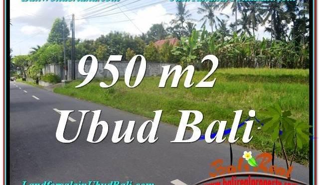 TANAH di UBUD DIJUAL 950 m2 di Sentral / Ubud Center