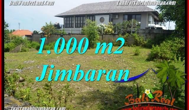 JUAL MURAH TANAH di JIMBARAN BALI 1,000 m2 di Jimbaran Ungasan