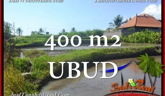 DIJUAL TANAH di UBUD Untuk INVESTASI TJUB659