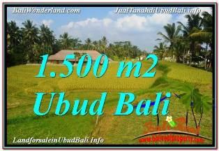 INVESTASI PROPERTI, DIJUAL MURAH TANAH di UBUD BALI TJUB668