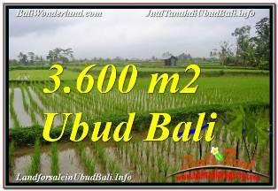 TANAH DIJUAL MURAH di UBUD BALI Untuk INVESTASI TJUB673