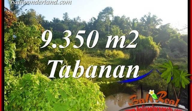 Investasi Properti, Dijual Murah Tanah di Tabanan Bali TJTB409