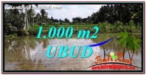 DIJUAL TANAH di UBUD 1,000 m2 di Ubud Pejeng