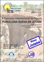 II Concurso Poético Internacional Purullena Suena en Jotabé
