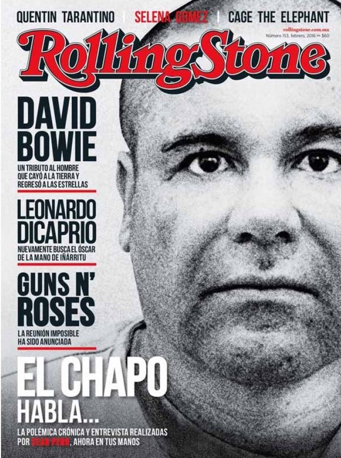 Chapo Guzmán & the Rolling Stone Magazine