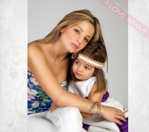 Fotografia perteneciente a la promoción Mamás con hijos, I LOVE MAMI