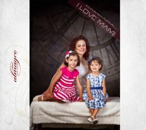 I love Mami, Fotografia de estudio para mamás y bebés por El Fotografo Juan Almagro de Jaén