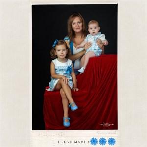 Fotografia en estudio de nuestra promoción I LOVE MAMI 2013 por Juan Almagro Fotografos