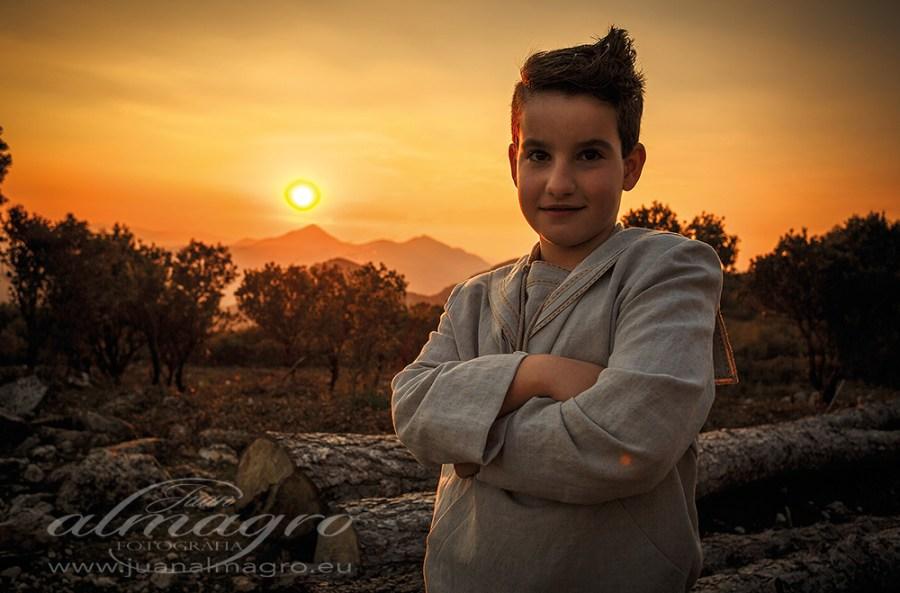 Fotografias de reportajes de comunion por Juan Almagro Fotografos en Jaén