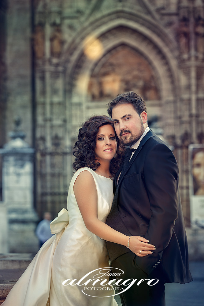 Fotografia perteneciente al Album de Boda de Rocio & Lorenzo en Sevilla