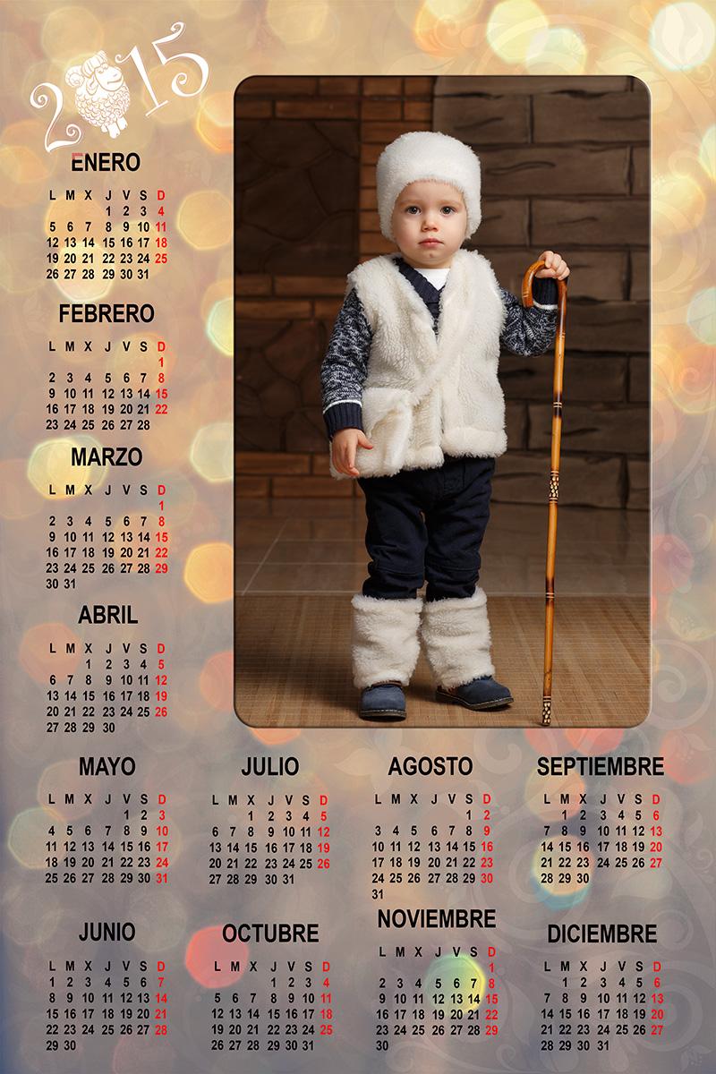 Foto Calendario Lucas