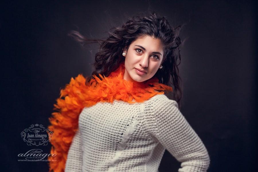 Retratos en estudio por Juan Almagro Fotografos de Bodas Jaén