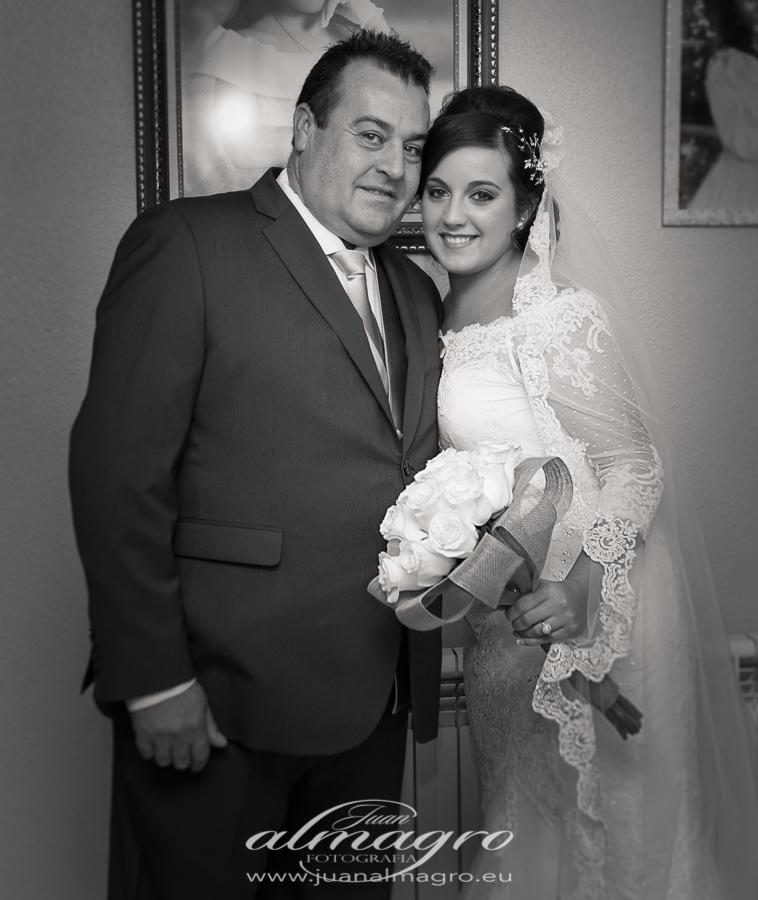 Fotos casa de la Novia por Juan Almagro Fotografos de bodas en Jaén