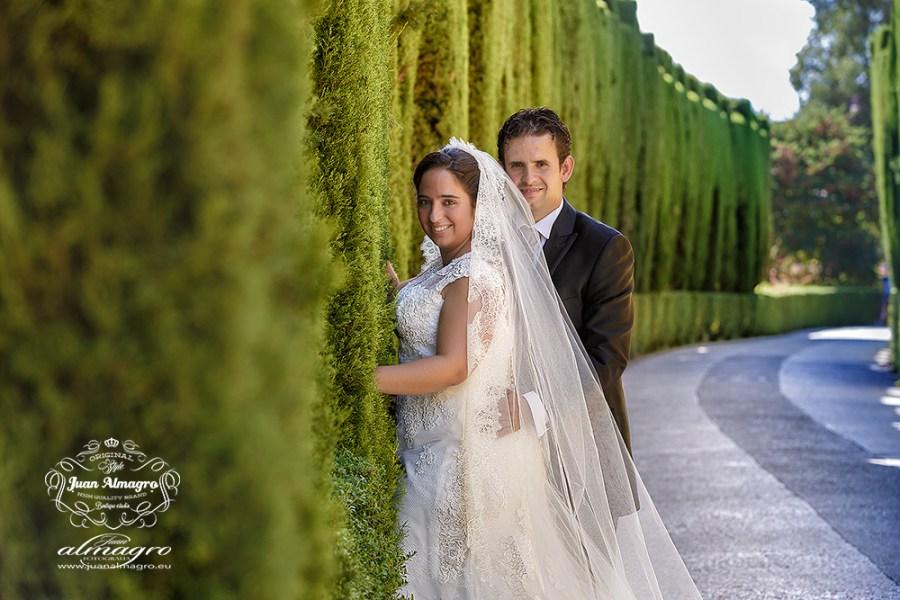Fotos postboda Jardines de la Alhambra de Granada