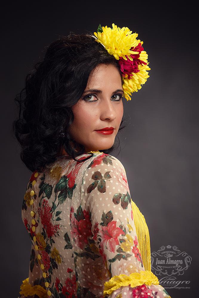 Jessica Gomez Trajes de Gitana Feria y Fiestas 2015