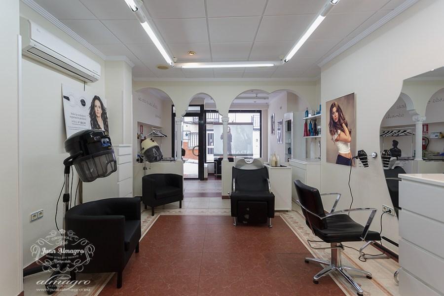 Adara peluquería - Rosa Melgarejo Fotodecoración de Juan Almagro Fotografos
