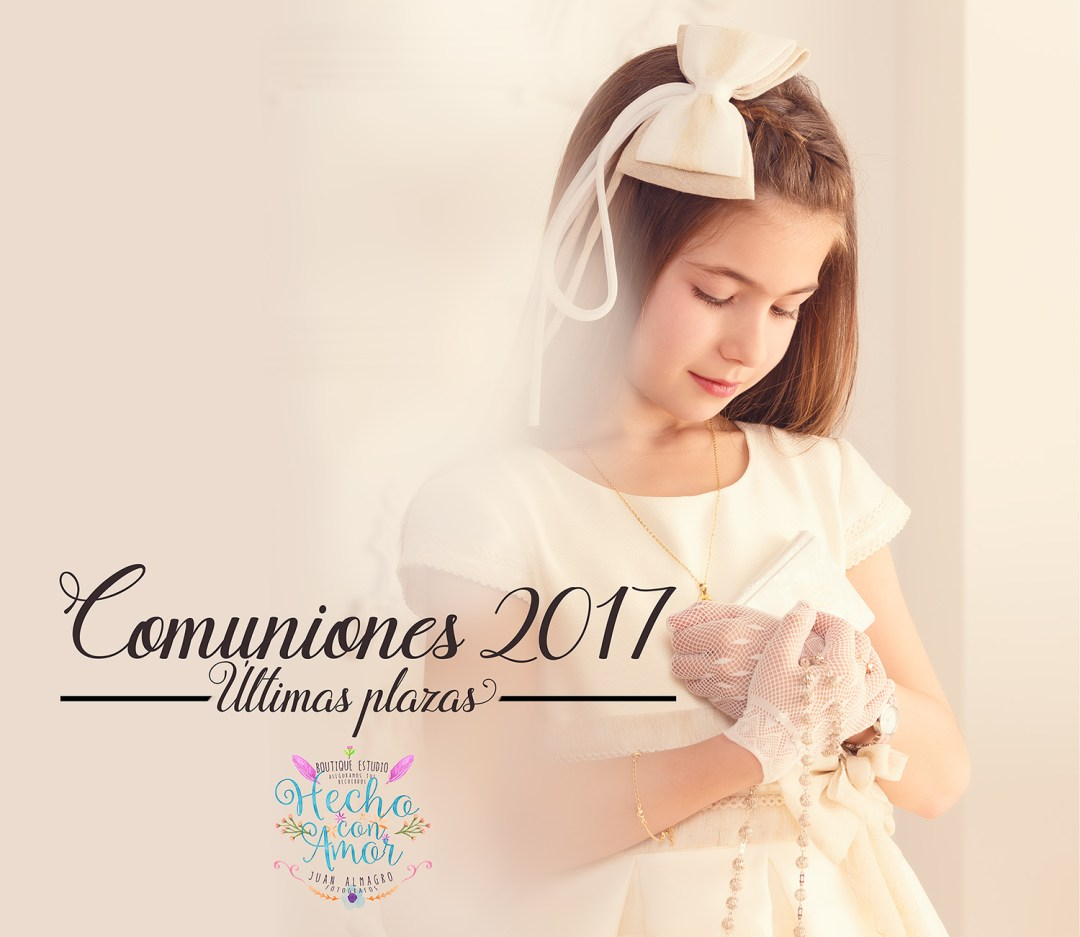 agenda comuniones 2017 - fotos comunión Juan Almagro fotografos