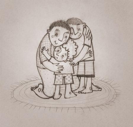 Papa's Hug to Celebrate Father's Day