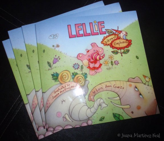 Lellie the Different Elephant is here