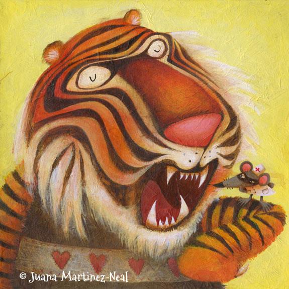 Tiger Teeth for Rendez Zoo