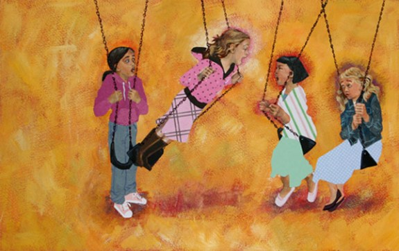 Swings by Mikela Prevost