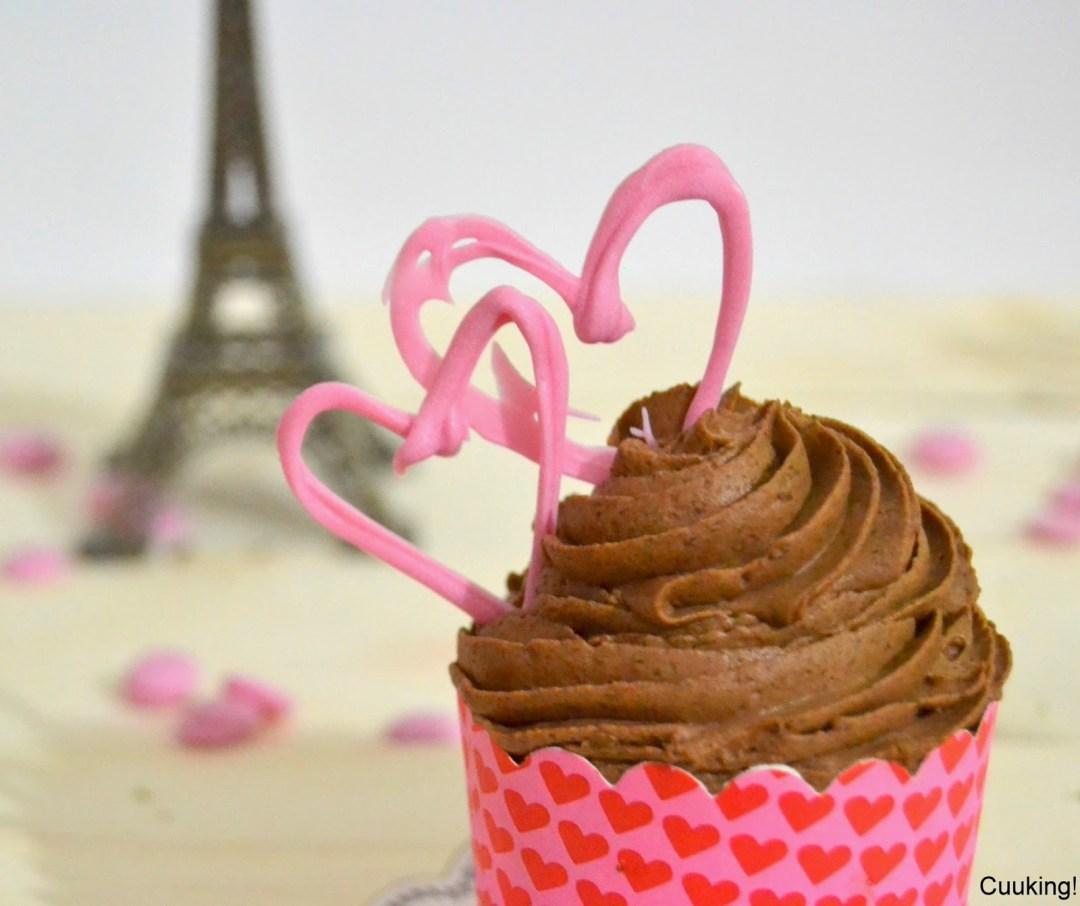 Cupcakes de chocolate paradisiacos ( Peggy Porschen)