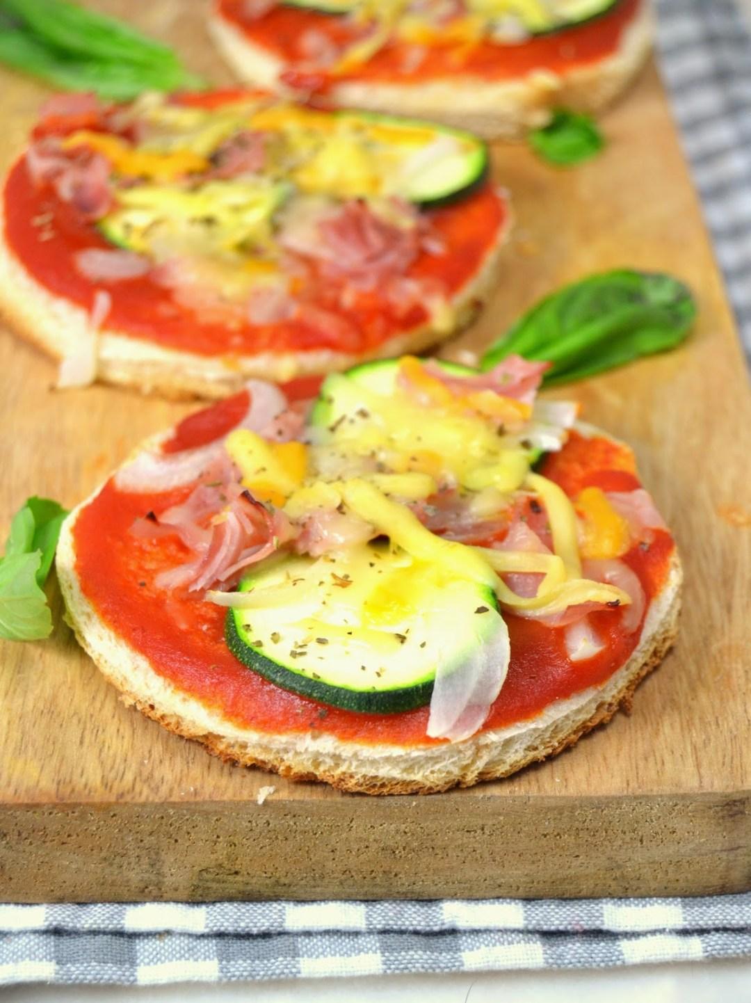 Panpizza o pizza en pan de molde