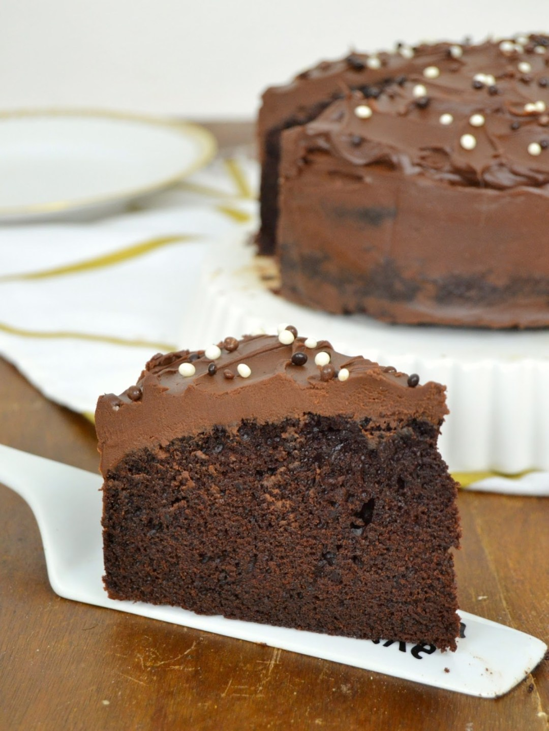 Tarta de chocolate y café ¡Para mi cumpleaños!