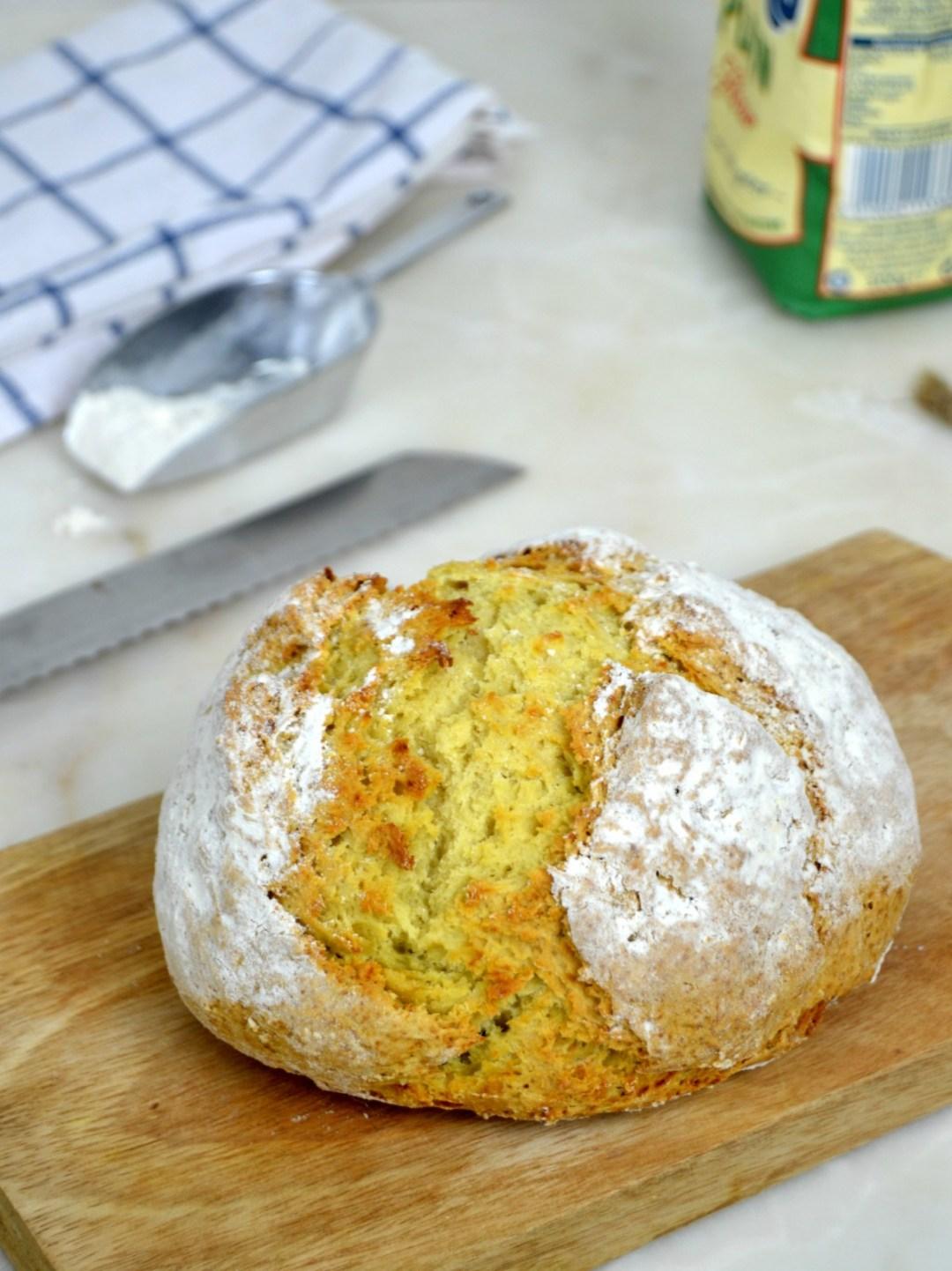 Pan de soda irlandés. Cómo hacer pan sin levadura