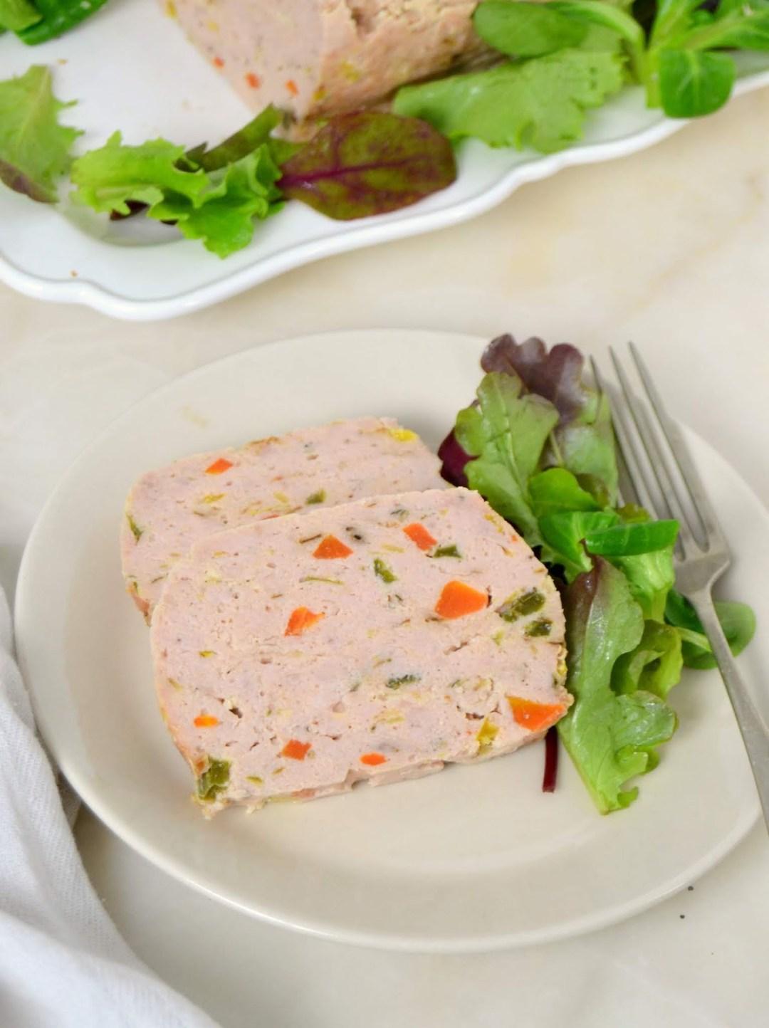Pastel de pollo fácil y rápido ¡Al microondas!
