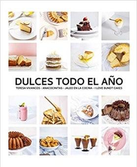 Libros de cocina para regalar dulces para todo el año