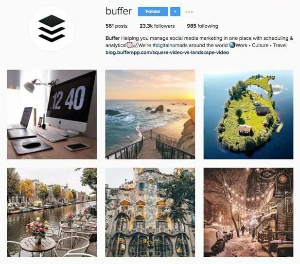 estrategia de marketing en instagram-buffer