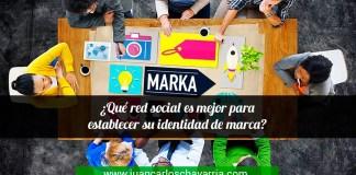 qué red social es mejor para establecer su identidad de marca